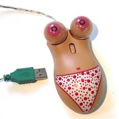 Мышь для ПК в виде силуета девушки