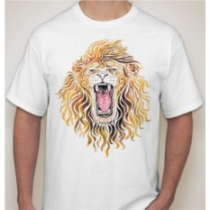 Футболка Оскал льва