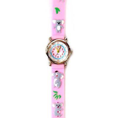 Часы «Розовая коала» Tik-Tak