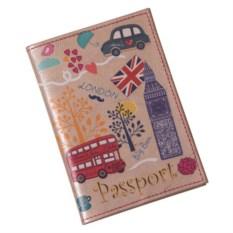 Обложка для паспорта Путешествия. Лондон