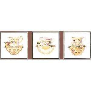 Набор для вышивания Teacup Trio