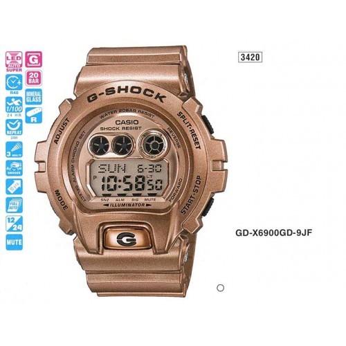 Мужские наручные часы Casio G-Shock GD-X6900GD-9E