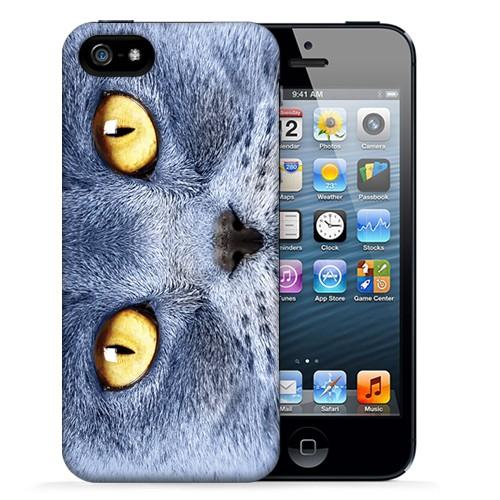 Чехол для iPhone 5/5s Yellow Eyes