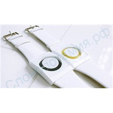 Черные наручные часы Скрытый циферблат