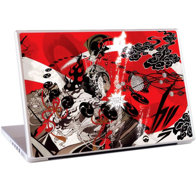 Обложка для 15 Laptop Skins Fuzin' Raizin'