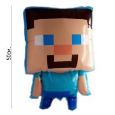 Воздушный шар Minecraft Стив