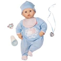 Кукла Zapf Creation Baby Annabell Кукла-мальчик с мимикой