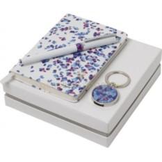 Подарочный набор (ручка роллер, брелок-флеш-карта 8 Гб, записная книжка)