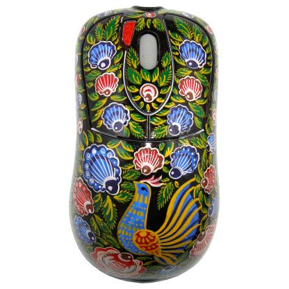 Компьютерная мышь« Городецкая.Голубь»