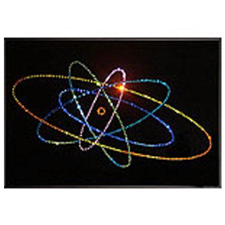 Хрустальная картина «Атом большой»