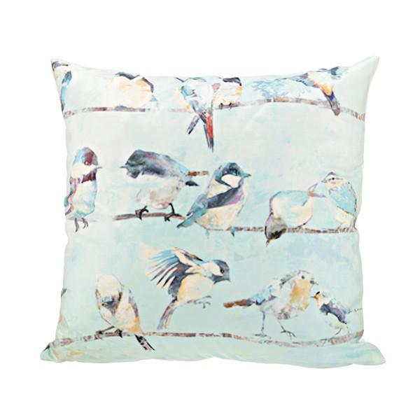 Подушка декоративная «Птички»