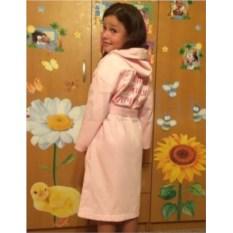 Детский мягкий именой халат