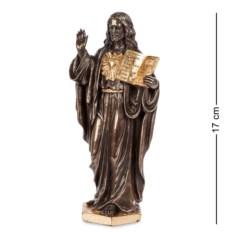 Статуэтка Иисус с Ветхим Заветом , высота 17 см