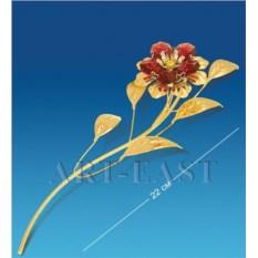 Фигурка с кристаллами Swarovski Цветок