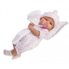 Плачущая кукла-малыш Габи в розовом