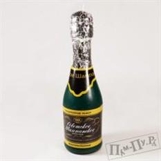 Свеча Теплое шампанское
