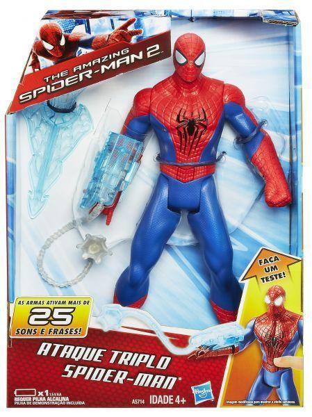 Электронная фигурка Человека-Паука от Hasbro