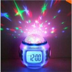 Мульти-функциональные часы-будильник Звездное небо
