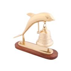 Гонг Морская рында с дельфином