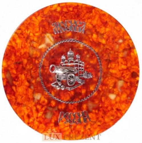 Сувенирная тарелка Царь-пушка