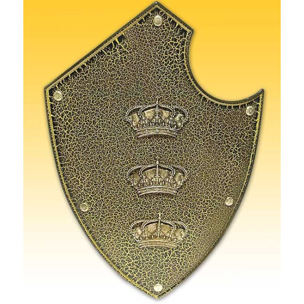 Настенный щит с гербом «Три короны»
