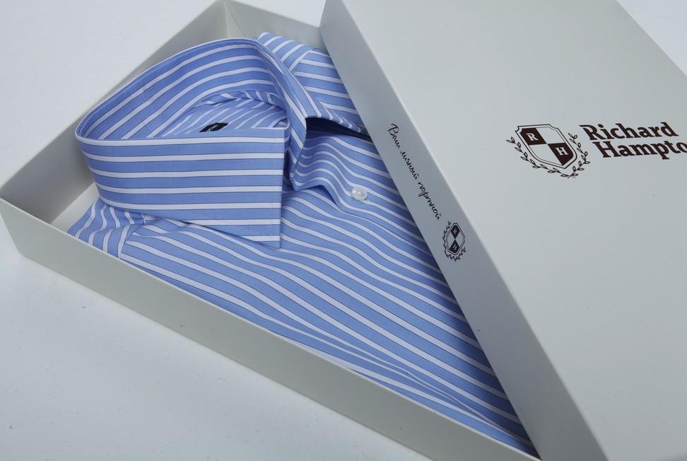 Индивидуальный пошив мужских сорочек Richard Hampton