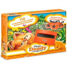 Игровая приставка Dendy Гарфилд + 150 игр