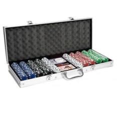 Набор Покер в кейсе на 500 фишек