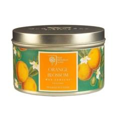 Ароматическая свеча в алюминиевой банке Цветок апельсина