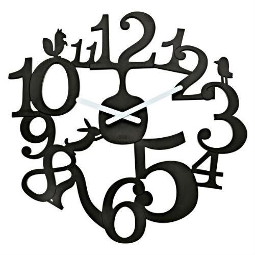 Настенные часы Pip, черный, Koziol