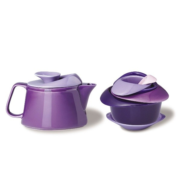 Набор для чаепития Rose, фиолетовый