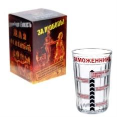 Граненый подарочный стакан Таможеннику