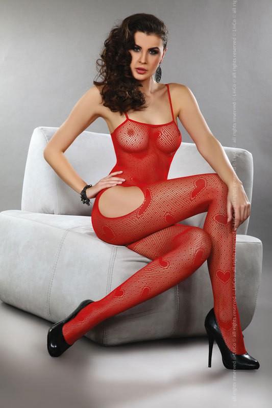 Боди-комбинезон Titania, красный