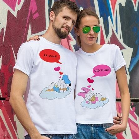 Парные футболки «Дисней»