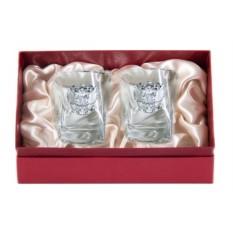 Набор бокалов в подарочном коробе Герб