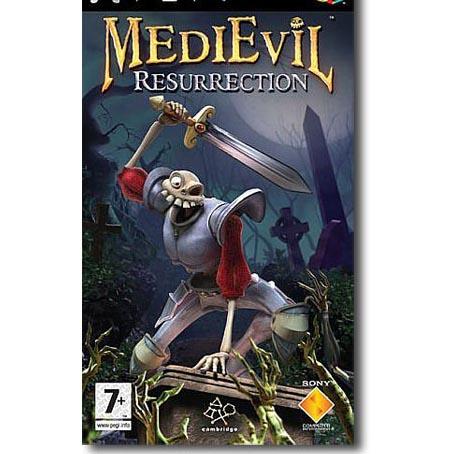 Игра PSP MediEvil: Resurrection Platinum