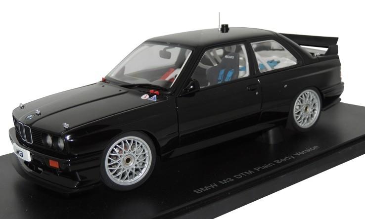 BMW M3 E30 DTM Plain Body Version Black
