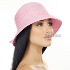 Пляжная розовая шляпа Del Mare