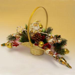 Букет из конфет «Новогодний сюрприз»