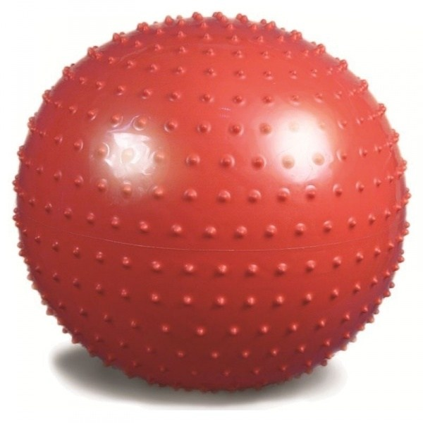 Мяч для фитнеса с шипами 65 см. (красный)