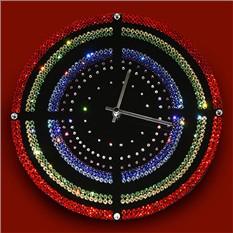Часы с кристаллами сваровски Мишень