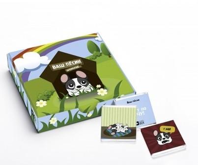 Шоколадный мини-набор Песики
