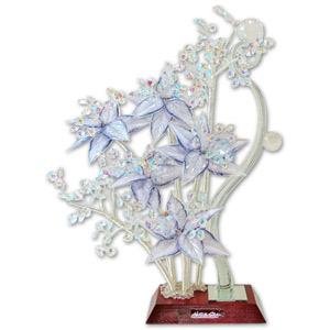 Декоративный бонсай «Cиреневые лилии»