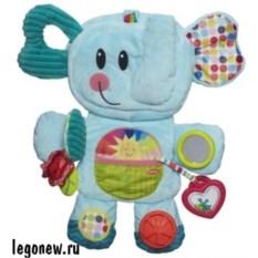 Развивающая игрушка Веселый слоник. Возьми с собой
