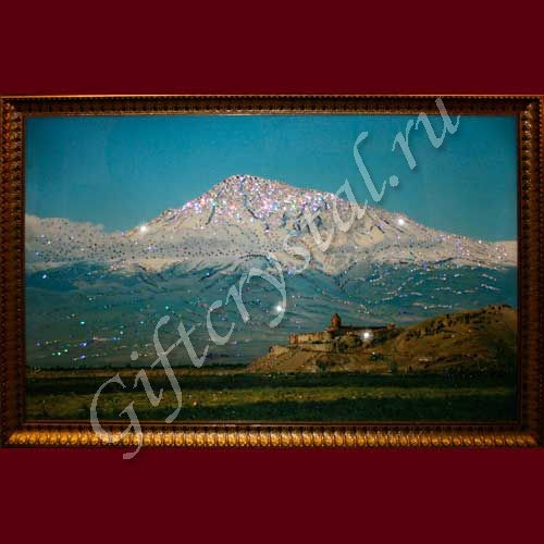 Картина с кристаллами Swarovski Гора Арарат