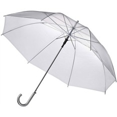 Зонт-трость, прозрачный
