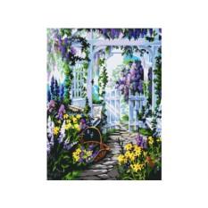 Картина по номерам «Райский аромат»