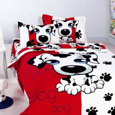 Детское постельное бельё PUPPY-RED