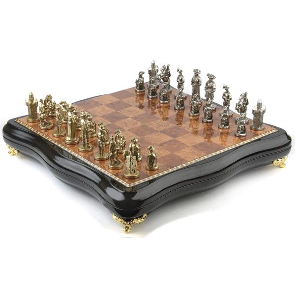 Бронзовые шахматы «Регент»
