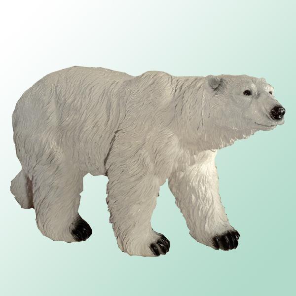 Садовая фигурка Медведь белый большой